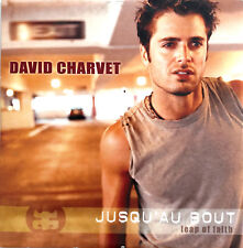 David Charvet CD Single Jusqu'Au Bout / Leap Of Faith - France (VG/EX)
