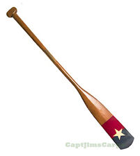 "Royal Barge Oar #2 Wooden Decorative Paddle 57"" Nautical Maritime Wall Decor New"