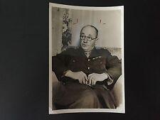 RARE WW MILITARY: Brigadier General John John R. Reese by Arthur Leipzig Photo