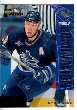 1997-98 UD Collector's Choice World Domination #W10 Trevor Linden