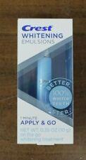 Crest Whitening Emulsions on the go whitening treatment (10 g) New Free Shipping