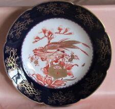 Magnífica Plato Decoración Porcelana Jean Pouyat Limoges Decoración Japonés