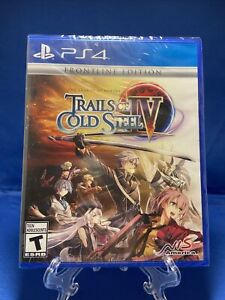 Trails Of Cold Steel 4 IV FRONTLINE EDITION PLAYSTATION 4 PS4 SHIPS TODAY