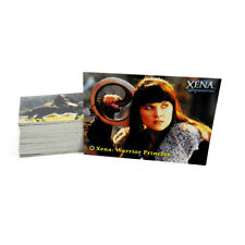 Xena The Warrior Princess Seasons 4 & 5 Trading Card Set (72) NM/MT