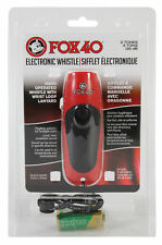 Fox 40 Electronic Whistle Coach Safety FREE Lanyard & 9 Volt Battery BEST VALUE!