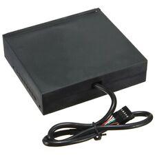 "3.5"" All-in-One Internal Flash Memory Card Reader + USB 2.0 Hub for Floppy Bay"