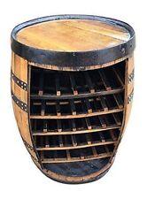 "Baril en chêne massif whisky ""vin"" cork rack | table boissons"
