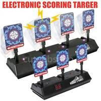 Electronic Shooting Target for Nerf Guns Auto Reset Digital Scoring Target Kid