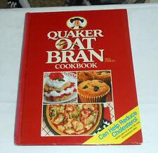 QUAKER Oat Bran Cookbook (1989 Hardcover w/spiral binding) fat-modified diet