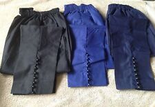 NEW PAKISTANI  CAPRI PENCIL CIG STYLIST PANTS TROUSERS IN COTTON WITH BUTTONS