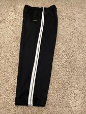 Nike Basketball Pants Men's Size 2Xl Black ankle zips-lining-pockets