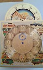 Hermle Olympic grandmother clock dial for 451-1151-053 chain 250x250x350m