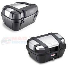 GIVI TRK52N trekker MOTO BAGAGES TOP BOX 52L + e133s dossier