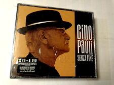 GINO PAOLI  -  SENZA FINE  -  2 CD + DVD   NUOVO E SIGILLATO