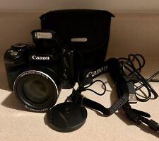 Canon PowerShot SX510 HS 20.3 Megapixel Compact Camera - Black