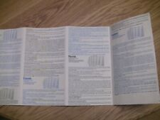 1975 Invicta Super MASTERMIND Replacement Parts/Pieces-instructions