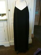 ~NEXT~Size~18 Petites Black Strappy Maxi Dress~RA