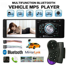 4.1'' Single 1 Din Car MP5 MP3 Player Wireless TF FM Stereo Wheel Control Radio