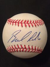 Brad Radke Twins Autographed Official Major League Baseball