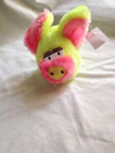 Schweinchen,Plüsch,10 cm,schielendes,
