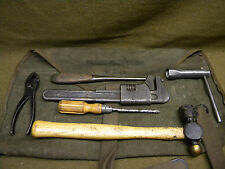 Lot bord JEEP M/201 Hotchkiss Early INDO PARA Algérie french army tool original