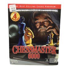 Chessmaster 6000 - Mattel - PC Big Box Game