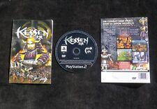 JEU Sony PLAYSTATION 2 PS2 : KESSEN (Koei COMPLET envoi suivi PAL)