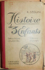 ANCIEN LIVRE MANUEL SCOLAIRE HACHETTE . LECTURE 3 ENFANTS CM1/2 . ILLUSTRÉ 1928