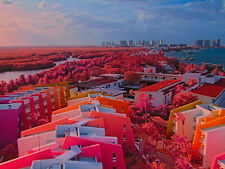 Canon Ultraviolet Infrared photography as Kodak Aerochrome EIR Powershot A590 IS