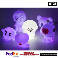 BTS BT21 Official Authentic Goods Mood Light 15 Color adjustment + Express Ship