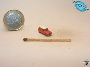 Citroen Ami Van Z scale 1/220 Hand-painted Metal Model