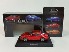 1:64 Kyosho Lexus Minicar Collection RC F RCF SPORT Coupe 5.0L V8 2014-2018 Red