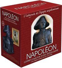 Estuche 10 DVD + Busto Napoleón Coleccionista La integral de epopeya napoleónica