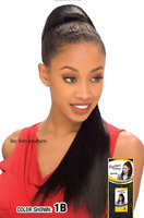 FreeTress Equal Drawstring Long Hair Extension Ponytail - Yaky Straight 22 inch