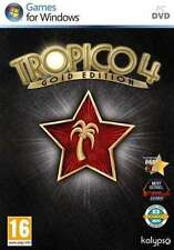 Tropico 4 Gold Edition - PC DVD - New & Sealed