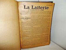 La Laiterie et les Industrie de la Ferme. Vol IV, du N° 1 au N° 24, 1894