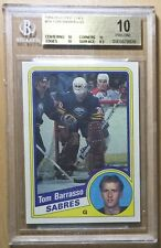 POP 5 1984 TOM BARRASSO RC ROOKIE HOF? O-PEE-CHEE OPC #18 BGS 10 PRISTINE!!