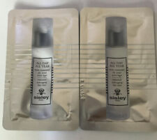 LOT OF 2- SISLEY All DAY ALL YEAR ESSENTIAL ANTI AGING DAY CARE CREAM SAMPLES