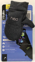 Head Junior Touchscreen Running Mittens Boys/Girls Small ages 4-6 SET OF 2 PACK