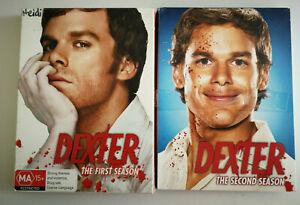 Dexter Season 1 and Season 2  DVD  Region 4 Showtime
