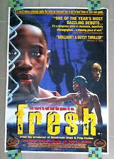 FRESH Movie 1994 Samuel Jackson Sean Nelson Boaz Yakin Sundance Film POSTER RARE
