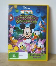 Mickey Mouse Clubhouse - Mickey's Adventures In Wonderland (DVD, 2009)