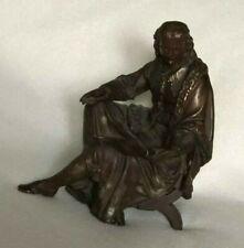 Circa 19Th C.William Shakespeare Clock Topper