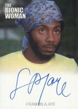 Bionic Collection The Bionic Woman Franklin Ajaye Autograph Card