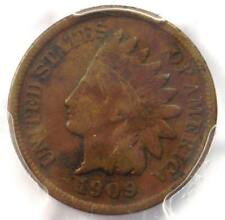 1909-S Indian Cent 1C Coin - PCGS Fine Detail - Rare Key Date - Certified Penny!