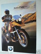 FN436-BROCHURE BMW 2000 MODELS,  PROSPEKT,  DUTCH 12 PAGES,R1150GS,R1200C
