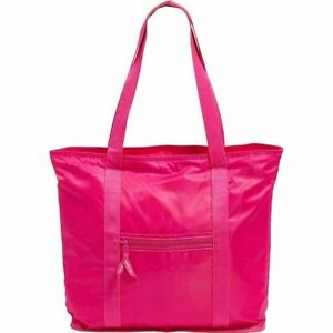 VERA BRADLEY PACKABLE TOTE PEONY PINK NWT ZIPPERED NEW SHOPPER  TRAVEL NWT