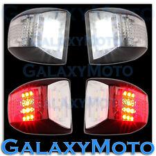 Chevy Tahoe+Suburban White LED License Plate+Red LED Rear Running+brake Lights
