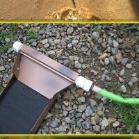 A Gold mining sluice box prospecting dredging panning paydirt sluicing `HOLIDAY