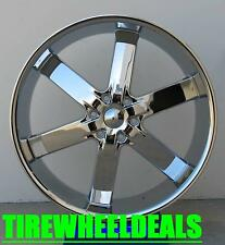 22 Inch U2 55 wheel Rims & Tires fit 6 X 139.7 Avalanche, Silverado, Sierra.
